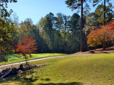Governors Towne Club, Acworth GA, Lot 7f - 4559 Oglethorpe Loop, 15th Hole -Tee Box & 14th Hole – Green View, Priced at $275,000
