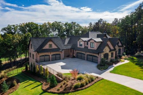 New Single Family Custom Home Construction | Governors Towne Club | Oglethorpe Loop